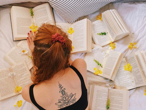 Finding my find love for reading again...