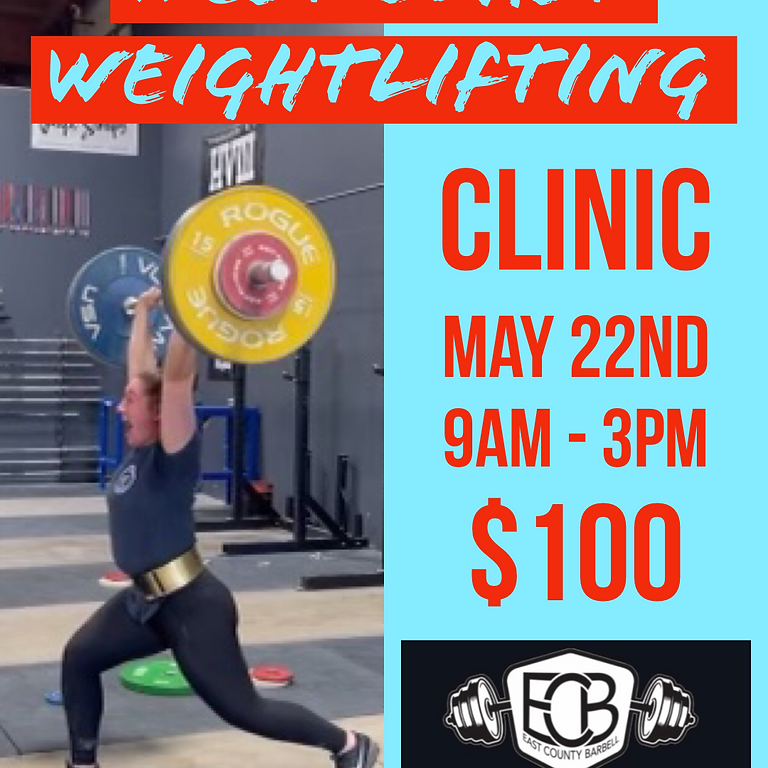 Weightlifting CLINIC