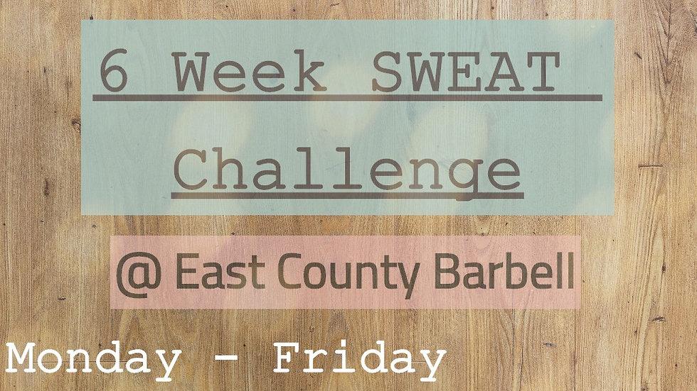 6 Week SWEAT Challenge