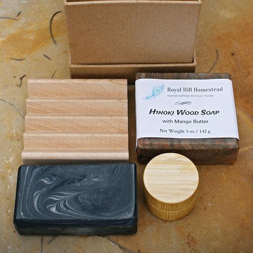 Hinoki Wood Gift Set