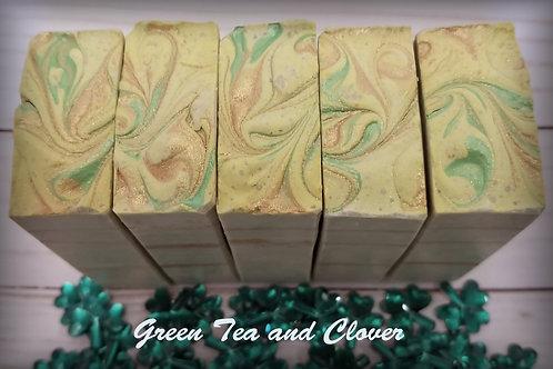 Green Tea and Clover Goat Milk Soap