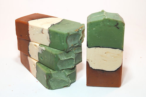 Rustic Winter Goat Milk Soap with Shea Butter