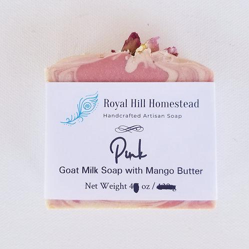 Pink Goat Milk Soap (underweight)