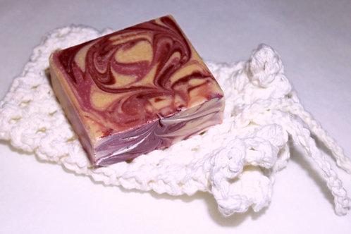 Crocheted Soap Saver Scrubby