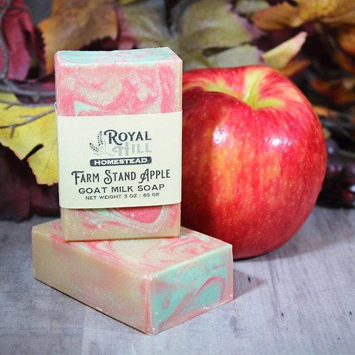 Farm Stand Apple Goat Milk Soap