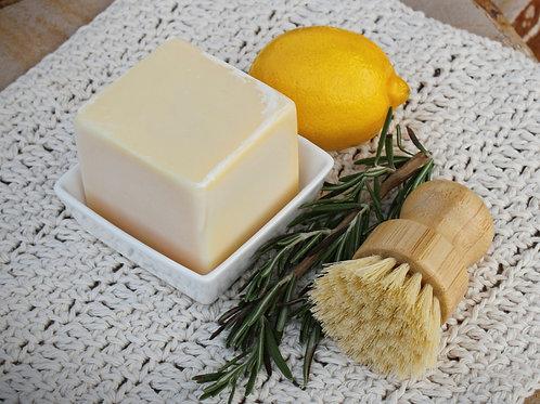 Solid Dish Soap Set Lemon/Rosemary