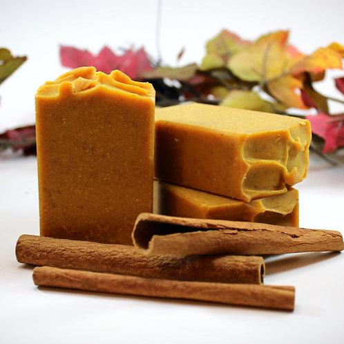 Golden Milk Facial Soap with Goat Milk, Turmeric and Sea Buckthorn Oil