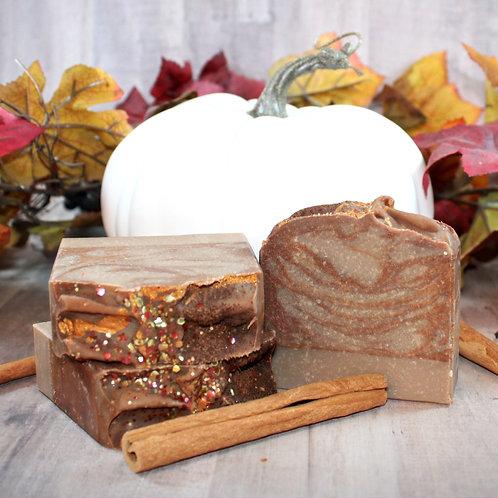 White Pumpkin and Amber Goat Milk Soap