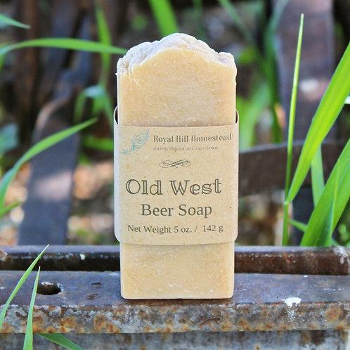 Old West Beer Soap