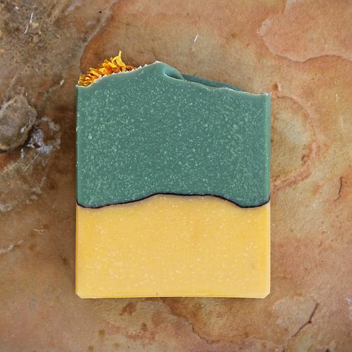 Sunny Dandelion and Oatmeal Soap