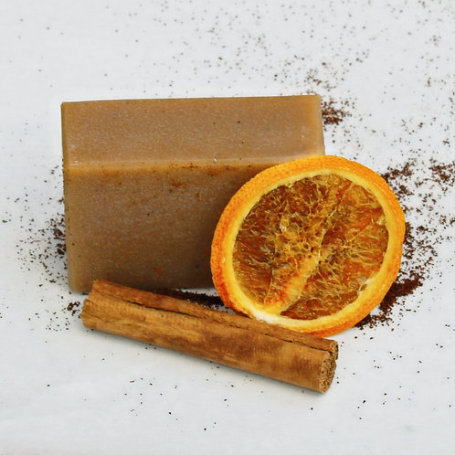 """""""Animal"""" Orange Spice Goat Milk Soap"""