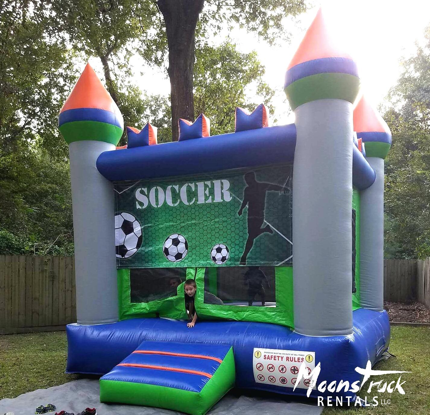 Moonwalk - soccer