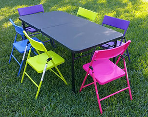 Kids size tables and chairs