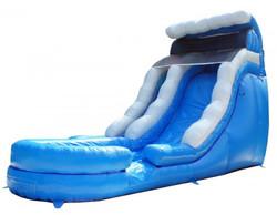 Slide - 18'H Blue Wave