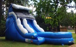 Slide - blue wave