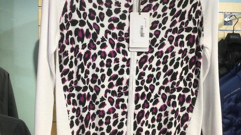 Glenmuir zip print cotton