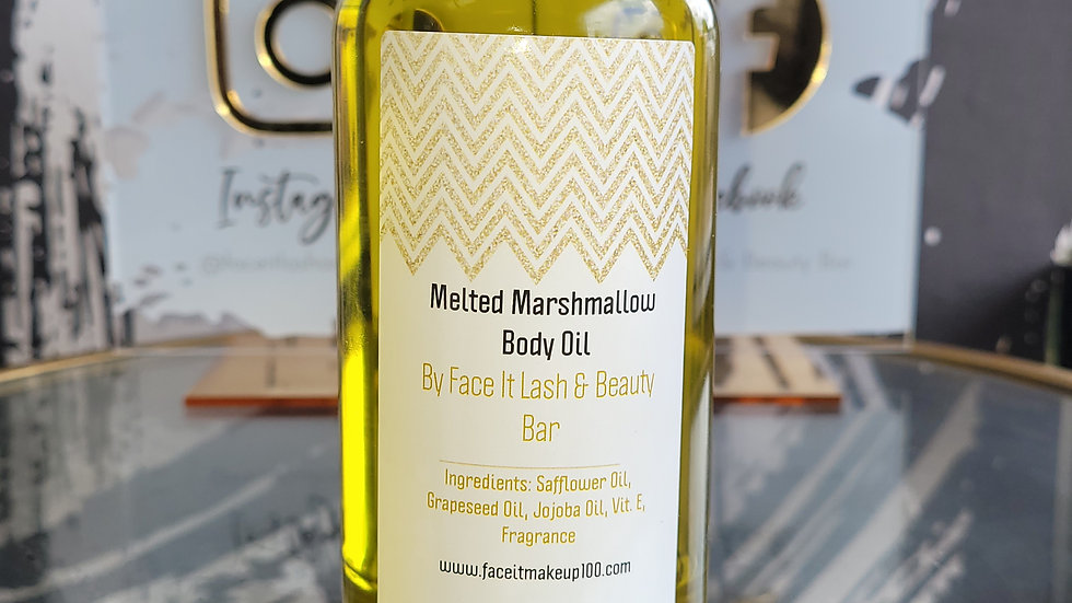 Melted Marshmallow Body Oil🤎 8oz.
