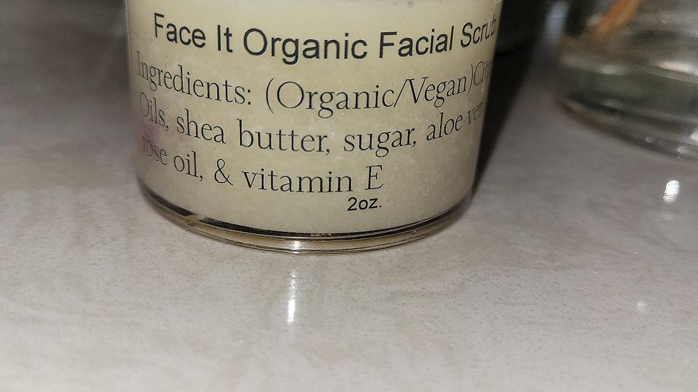 Face It Organic Facial Scrub