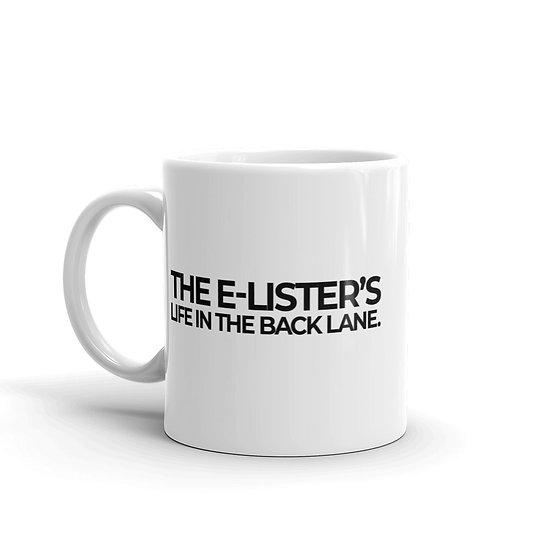THE E-LISTER'S COFFEE MUG