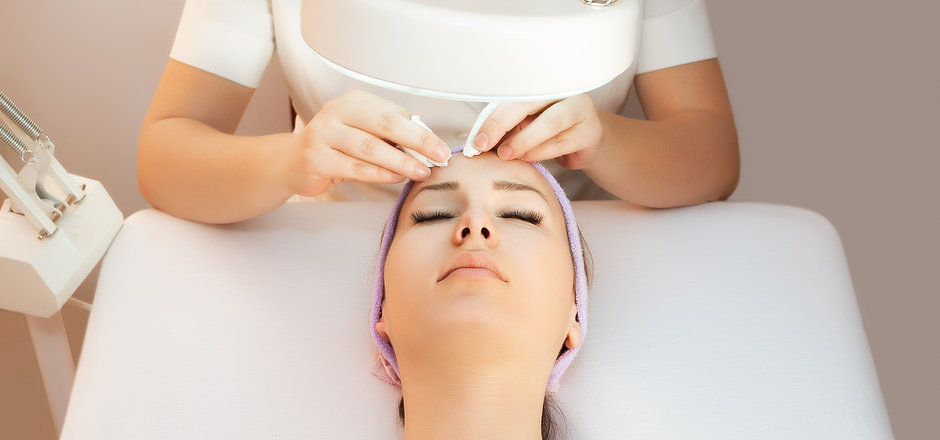 Young woman receiving beauty therapy.jpg