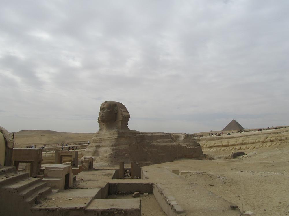 le sphinx de gizeh egypte 2018