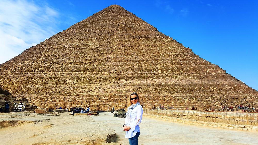 La géomancie dans la grande pyramide