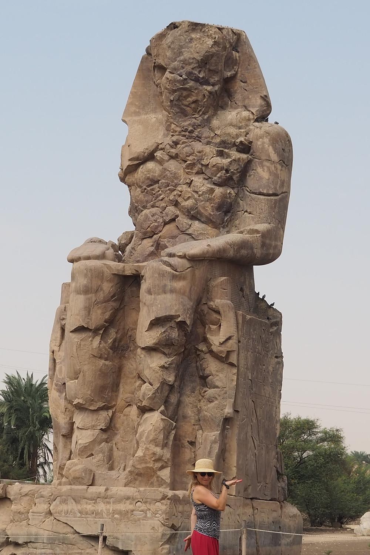 Colosse de MEMNON Egypte