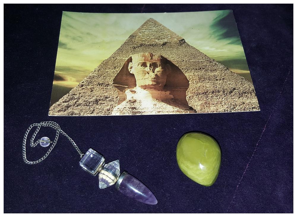 Radiesthésie et Egypte