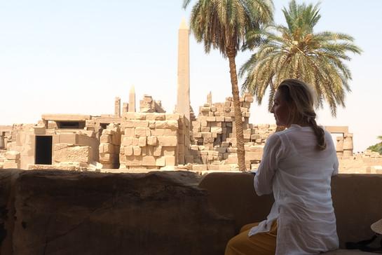 Temple de Karnak .