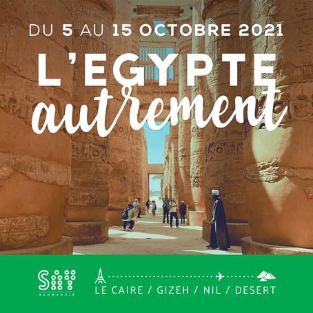 ON PART ! Bonne nouvelle #egypte