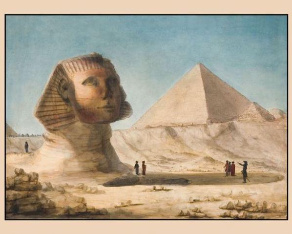 Pyramide Kheops à gizah Sphinx