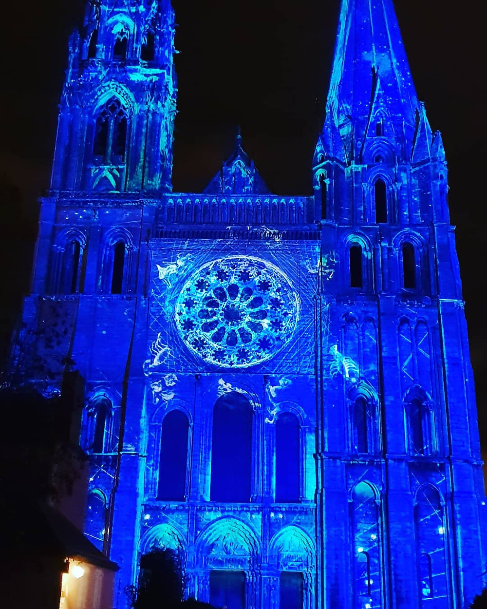 Cathédrale de Chartres Illuminations Noël 2018