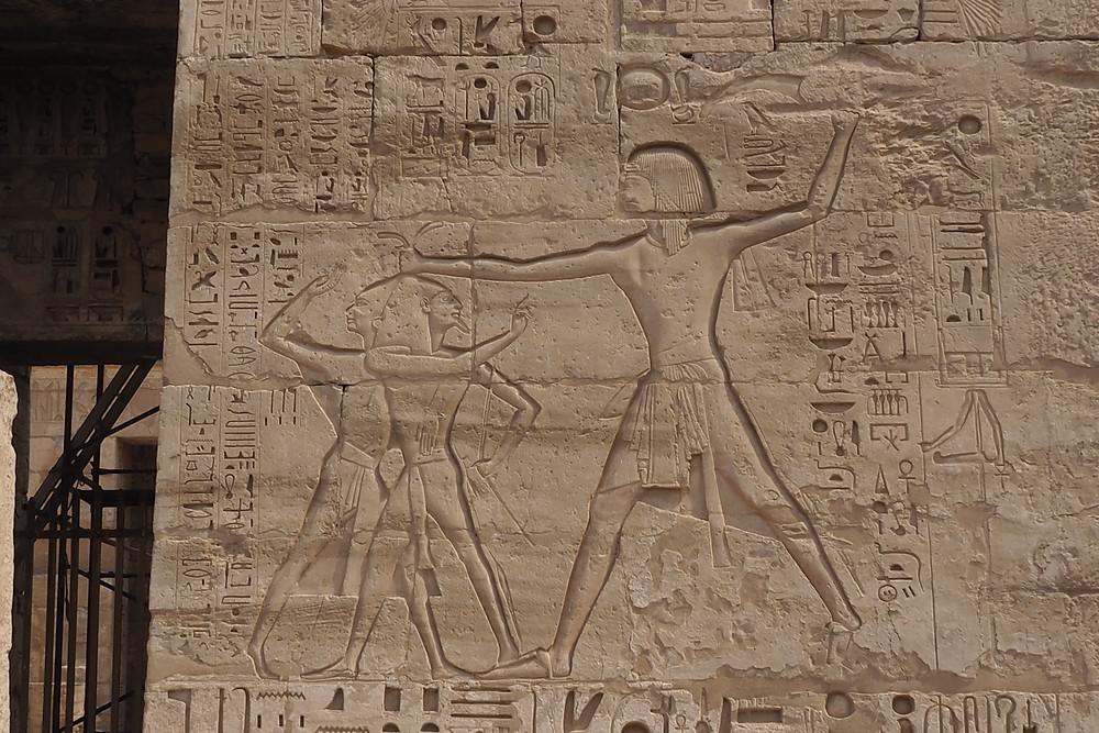 Temple des millions d'années RAMSESIII Egypte