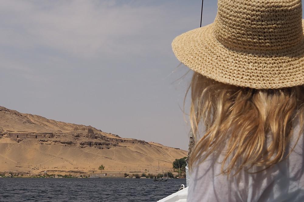 flânerie sur le Nil en Nubie - egypte