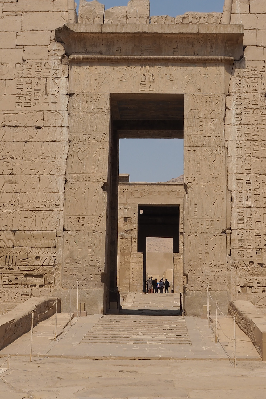 Medinet Habou RAMSES III Egypte