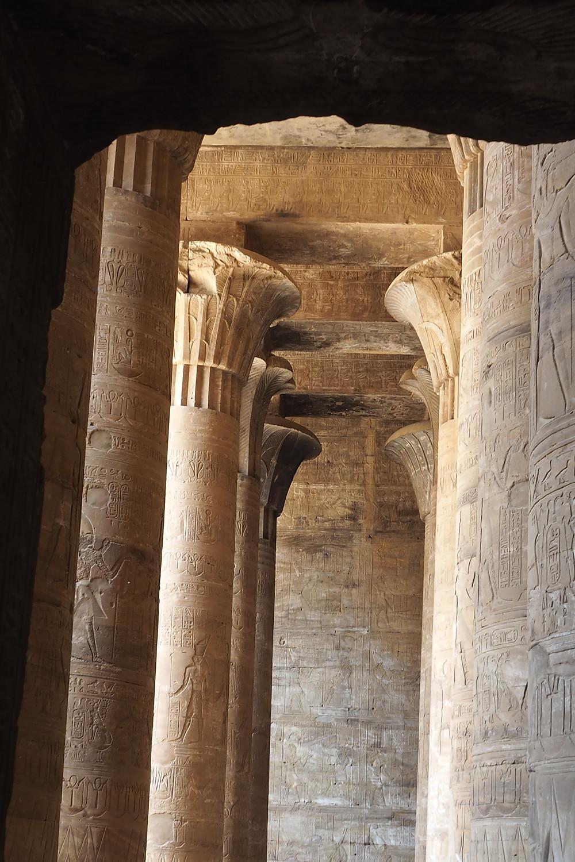 Egypte Temple Edfou - Croisière septembre 2018