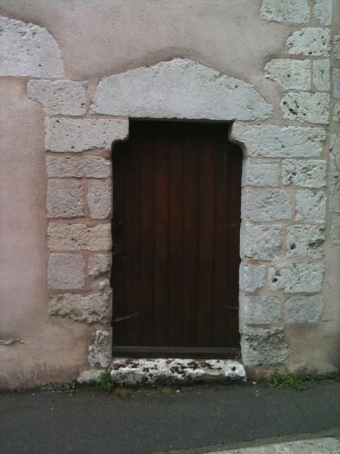 Porte templière à Chartres