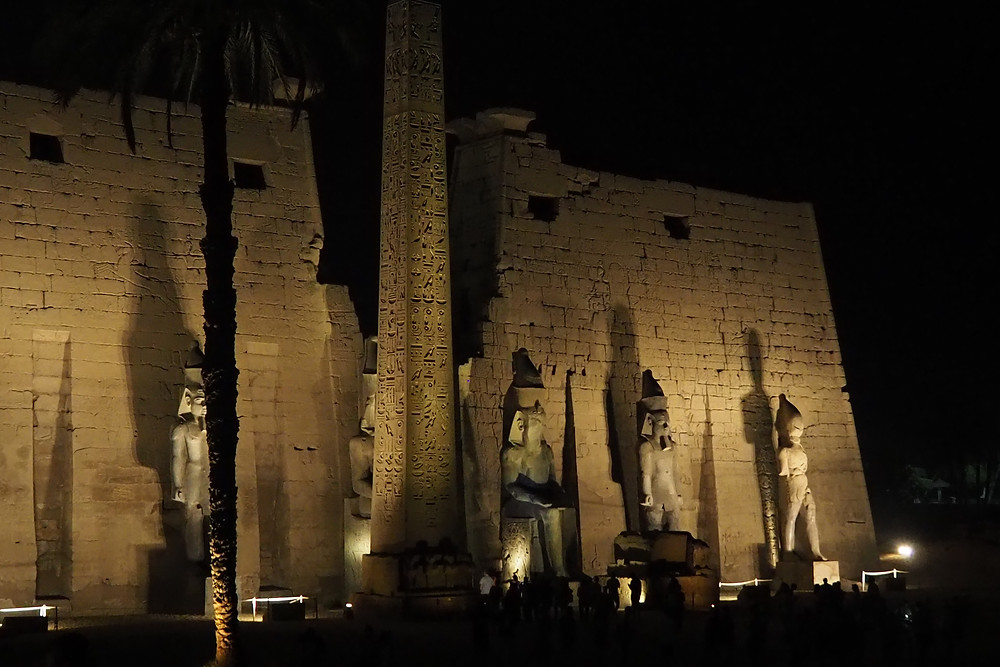 Louxor Temple  Egypte