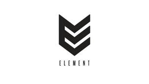 Element wanted to convey movement with the E