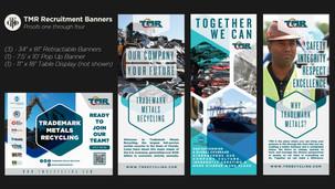 Trademark Metals Recycling Recruitment Banners