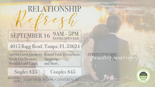 Relationship conference flyer
