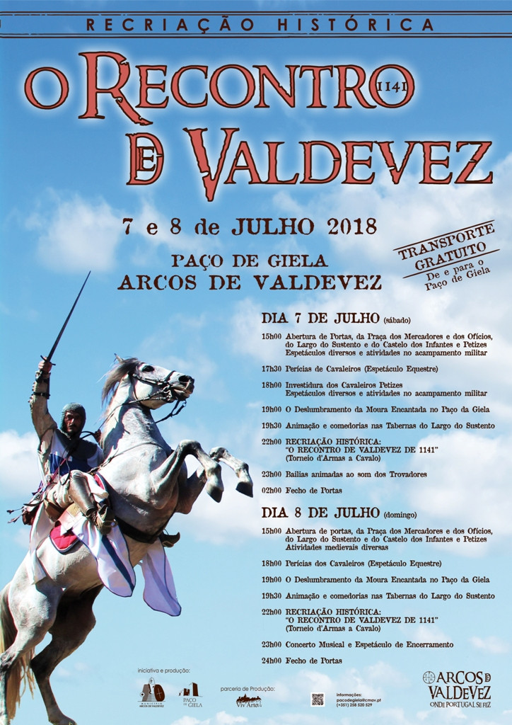 Recriação Histórica do Torneio de Valdevez este fim de semana no Paço de Giela   Peneda Gerês TV