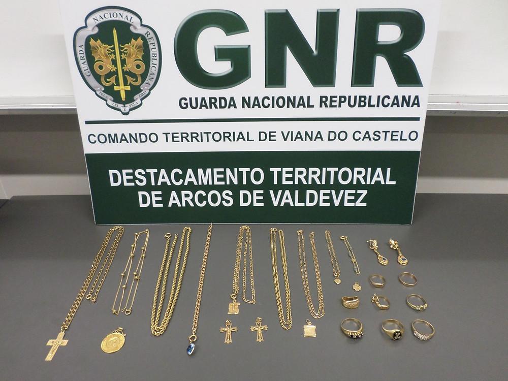 Recuperados em Arcos de Valdevez cinco mil euros de ouro furtado | Peneda Gerês TV