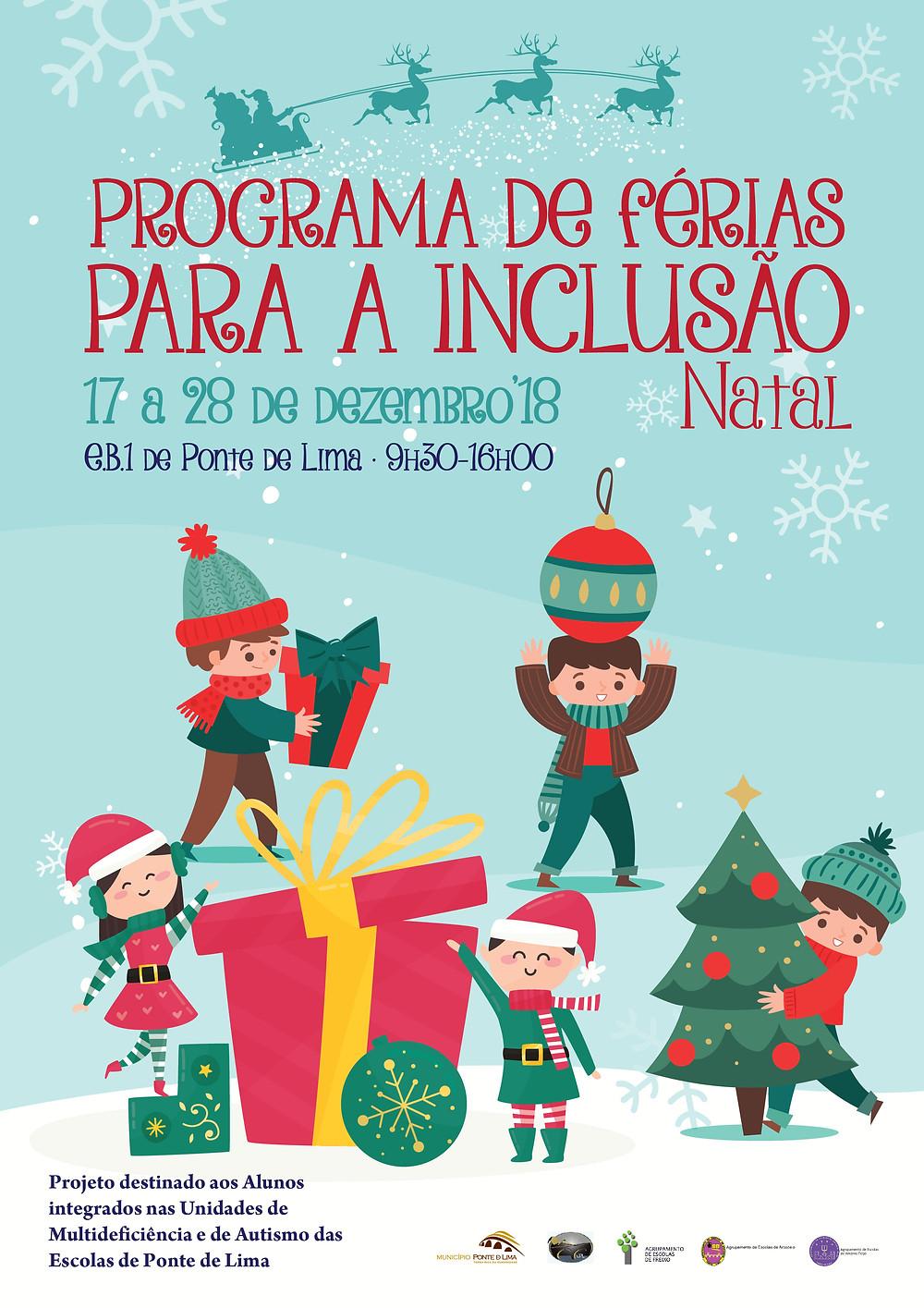Programa Férias de Natal para a Inclusão | Peneda Gerês TV