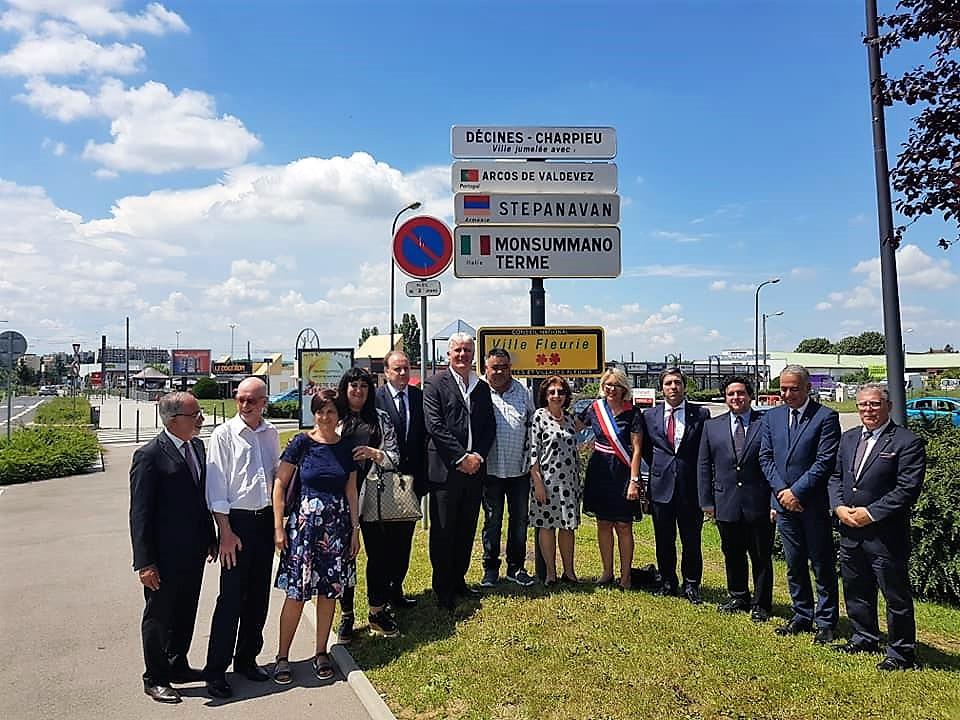 Arcos de Valdevez celebra protocolo com Décines-Charpieu, Município Francês | Peneda Gerês TV