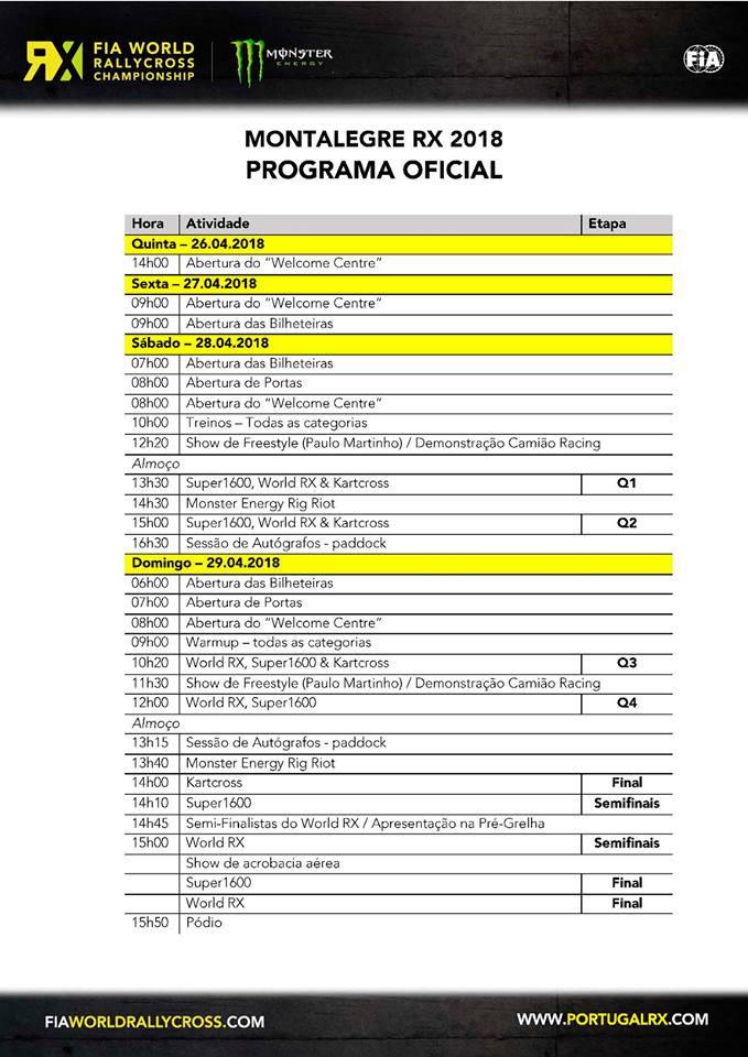 Segunda prova do Campeonato Mundial de Rallicross 2018 Programa Oficial | Montalegre | Peneda Gerês TV