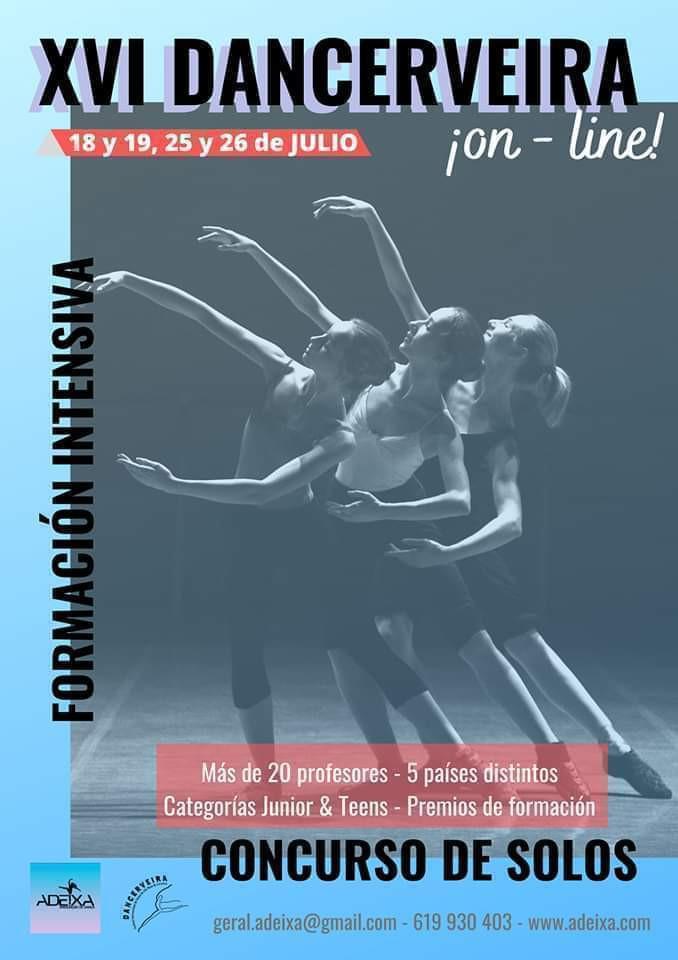 DANCERVEIRA 2020 abre inscrições para Maratona de Workshops online e Concurso a Solos