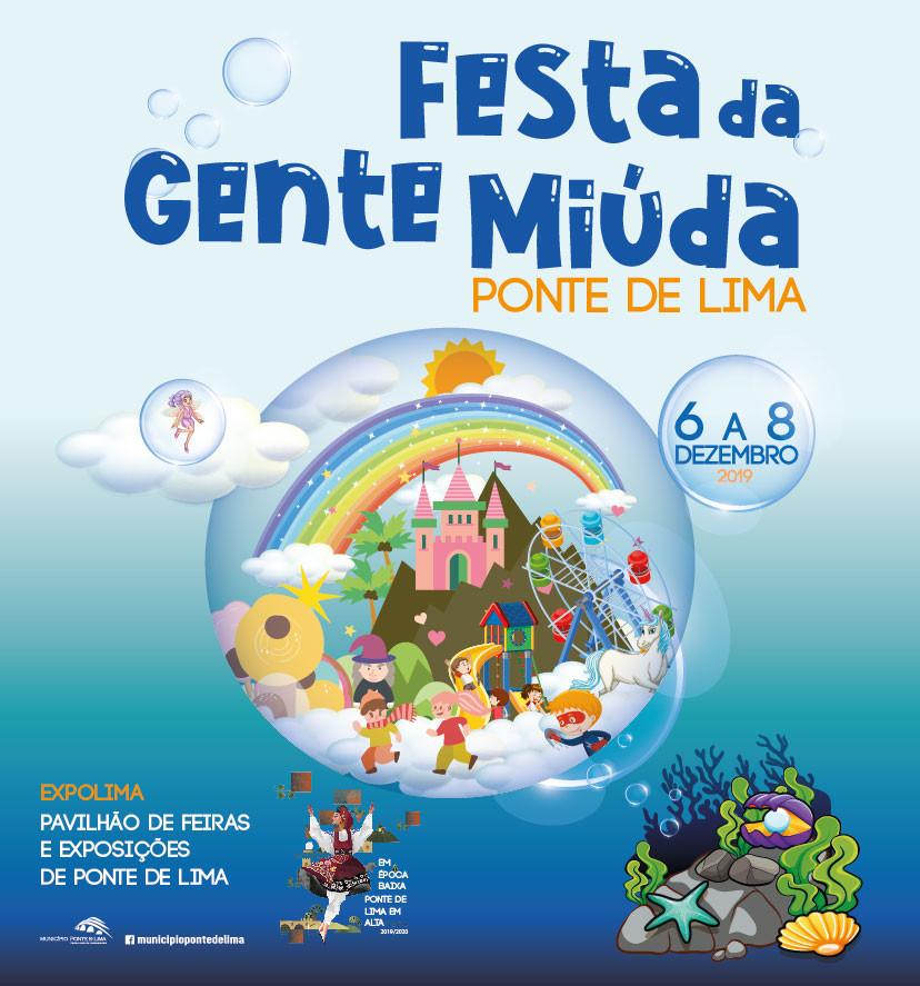 VIII Festa da Gente Miúda de 6 a 8 de dezembro em Ponte de Lima | Peneda Gerês TV
