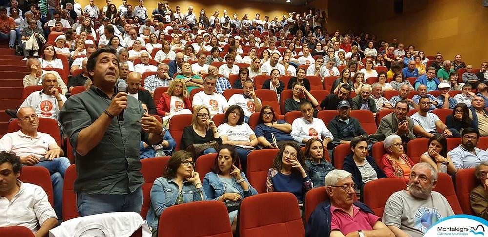 Sessão de esclarecimento sobre o lítio em Montalegre não foi fácil | Peneda Gerês TV