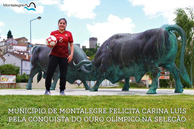 Montalegre felicita Carina Luís por conquista de Ouro Olímpico na Seleção | Peneda Gerês TV